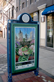 Syracuse Art Poster, at Warren and Onondaga streets.