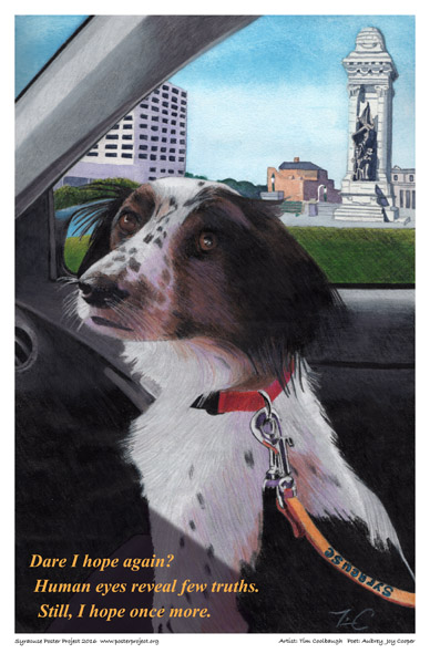 Syracuse Art Poster : Home and Love for Pets, Dogs