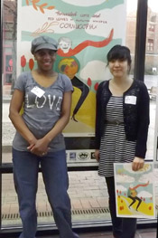 Poet Lynn McDonald and artist Hansol Kim