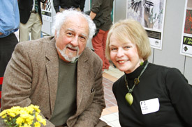 Joe Scala and poet Patsy Scala.