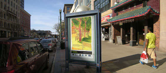 Syracuse Poster, Shot Clock Park, Armory Square.