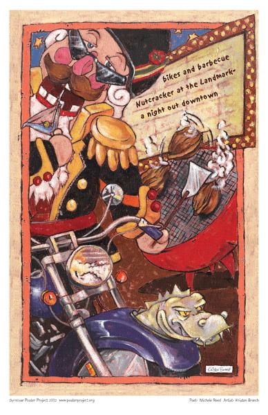 Art Poster, Syracuse, Entertainment, Nutcracker, Landmark Theatre, Bikes, Barbecue
