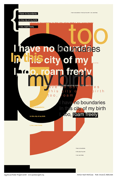 Typographic Collage, Art Poster, Syracuse