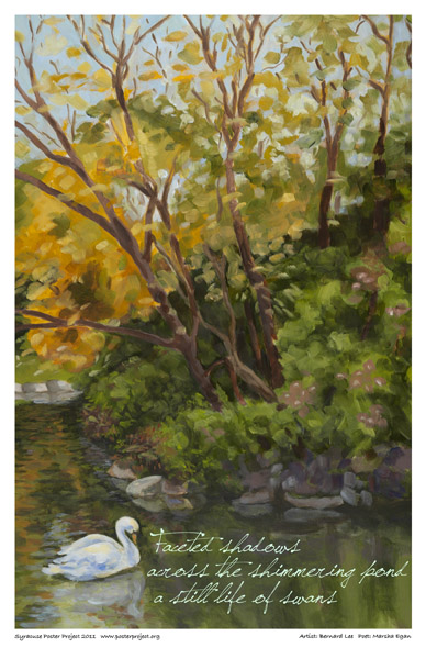 Art Poster, Syracuse, Manlius Swan Pond