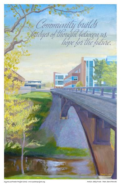 Art Poster, Syracuse, Onondaga Community College, OCC