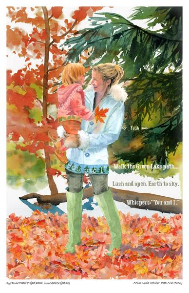 Poster, Syracuse Art, Green Lakes