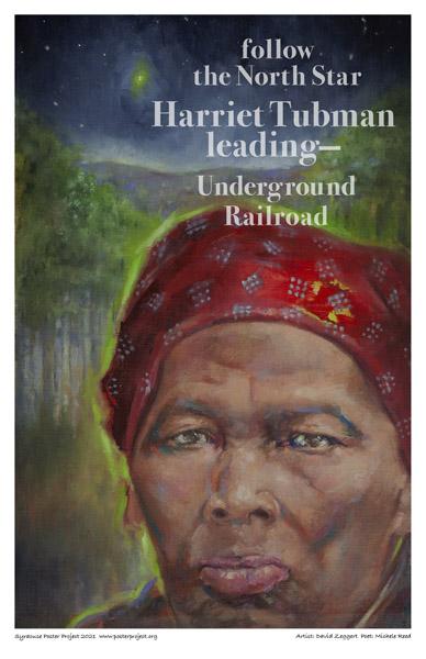 Poster, Syracuse Art, Harriet Tubman Portrait
