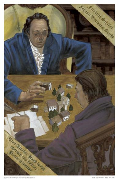 Goethe, Schiller, Schiller Park, Art Poster, Syracuse